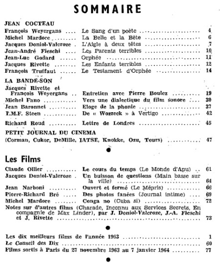 cahiers du cinema 152